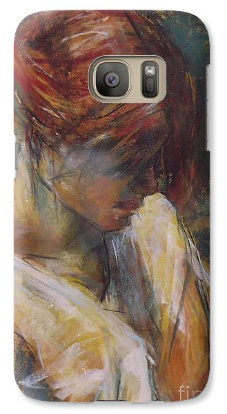 Galaxy Case featuring the painting Carmen Of Lautrec II by Debora Cardaci