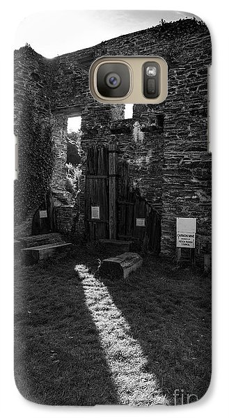 Galaxy Case featuring the photograph Photographs Of Cornwall Carnon Mine by Brian Roscorla
