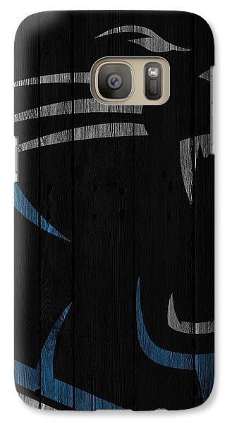 Caroilina Panthers Wood Fence Galaxy S7 Case