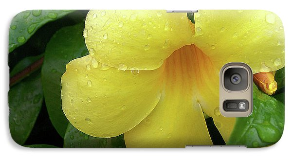 Galaxy Case featuring the photograph Carolina Jasmine by Larry Bishop