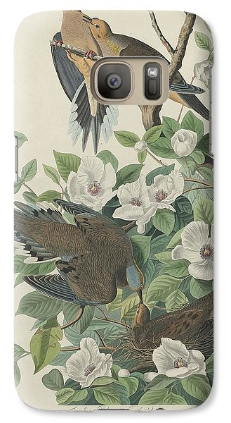 Carolina Pigeon Or Turtle Dove Galaxy S7 Case by Rob Dreyer