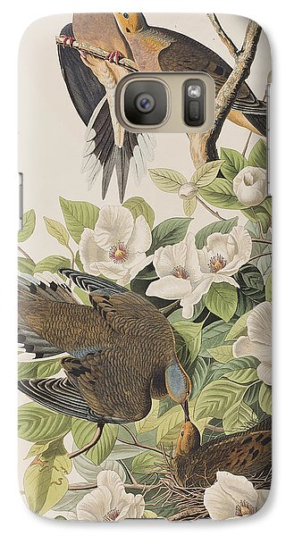 Carolina Turtle Dove Galaxy Case by John James Audubon