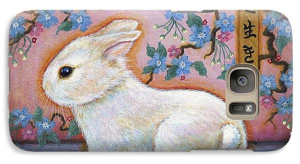 Carpe Diem Rabbit Galaxy S7 Case