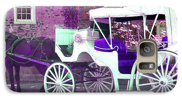 Galaxy Case featuring the photograph Carriage Ride by Susan Carella