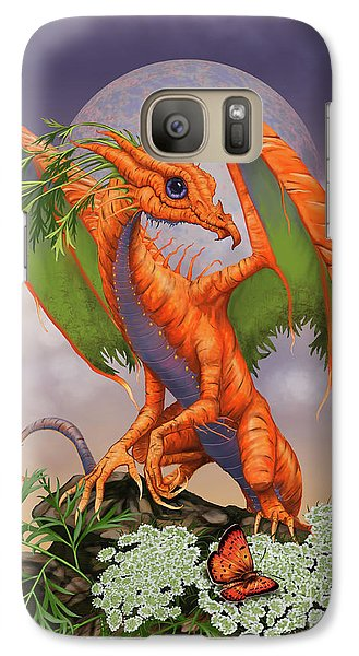 Carrot Galaxy S7 Case - Carrot Dragon by Stanley Morrison
