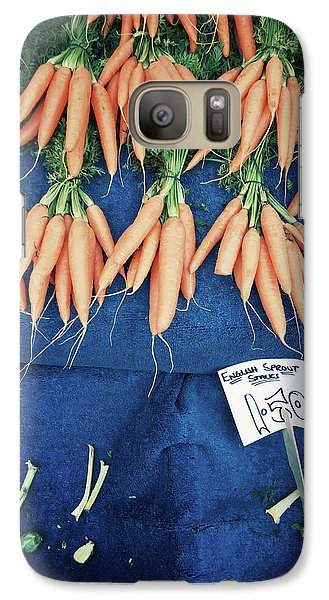 Carrots At The Market Galaxy S7 Case