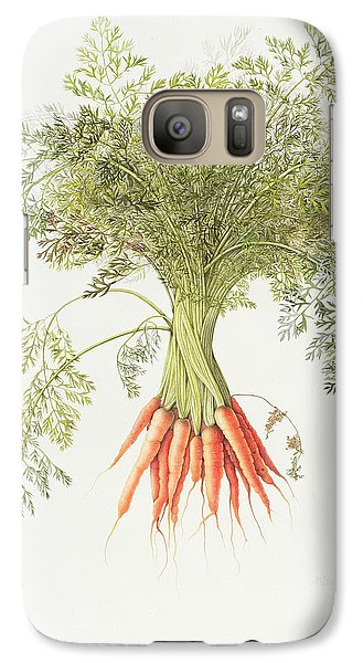 Carrots Galaxy S7 Case by Margaret Ann Eden