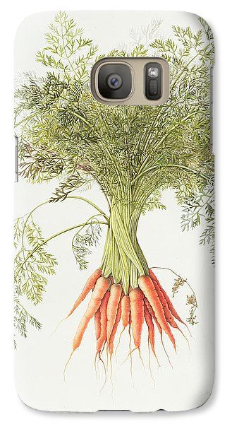 Carrots Galaxy S7 Case by Margaret Ann Eden