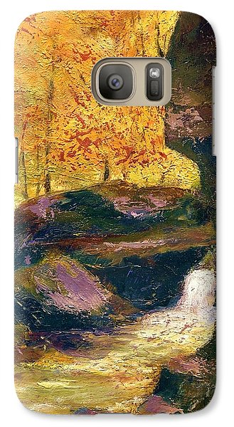 Galaxy Case featuring the painting Carter Caves Kentucky by Gail Kirtz