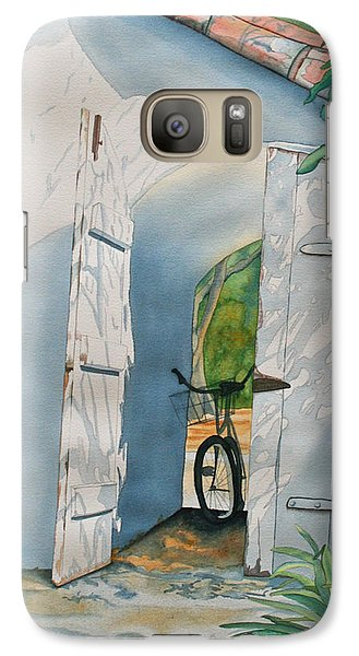 Galaxy Case featuring the painting Casa De Teresita by Teresa Beyer