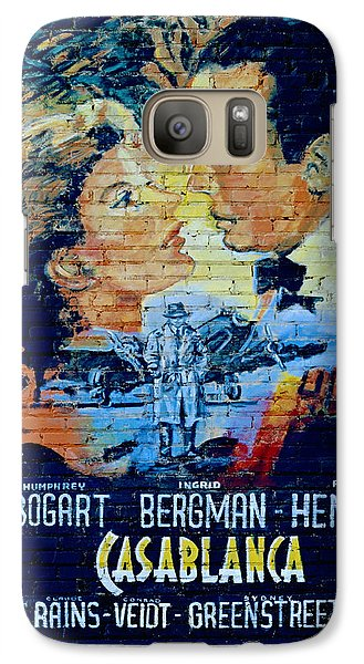 Galaxy Case featuring the photograph Casablanca Mural 2013 by Padre Art