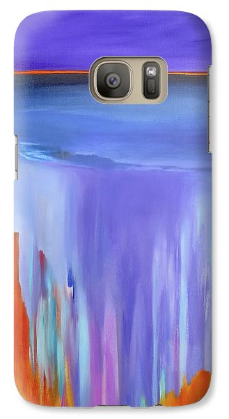 Galaxy Case featuring the painting Casade by Jo Appleby
