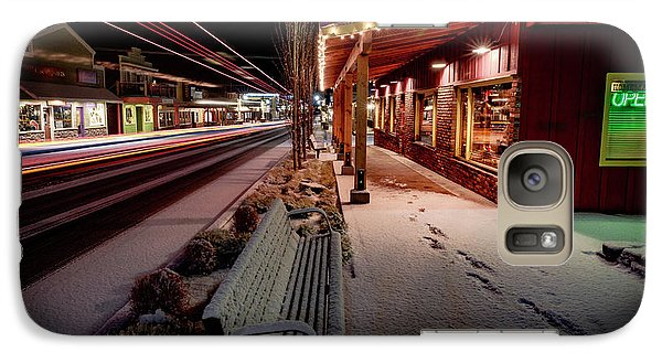 Galaxy Case featuring the photograph Cascade Avenue by Cat Connor
