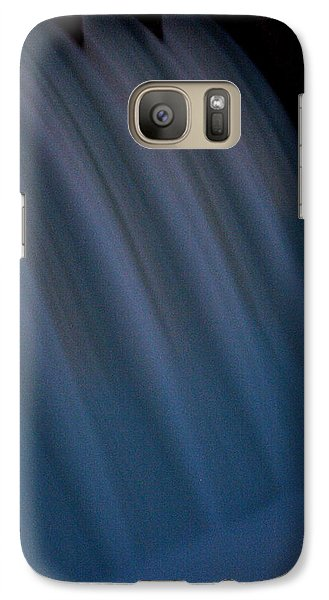 Galaxy Case featuring the photograph Cascade De Azure by David Dunham