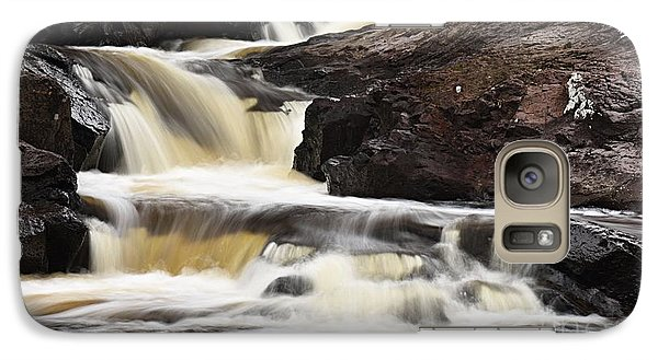 Galaxy Case featuring the photograph Cascade On The Two Island River by Larry Ricker