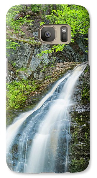 Galaxy Case featuring the photograph Cascade Waterfalls In South Maine by Ranjay Mitra