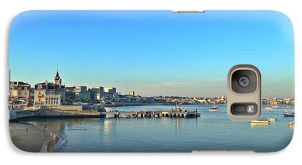 Galaxy S7 Case - Cascais Marina by Onthe Runaway