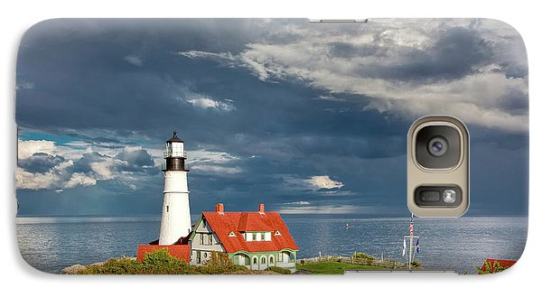 Galaxy Case featuring the photograph Casco Bay Lookout by Susan Cole Kelly