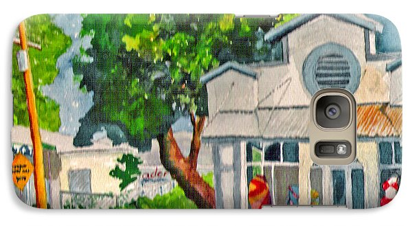 Galaxy Case featuring the painting Caseys Place by Eric Samuelson
