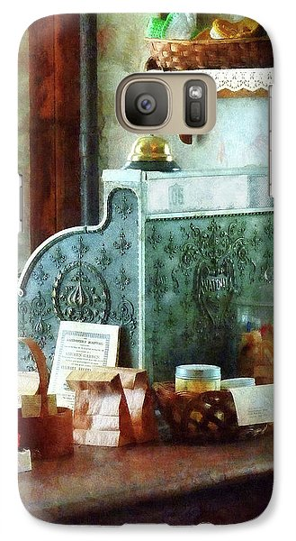 Galaxy Case featuring the photograph Cash Register In General Store by Susan Savad
