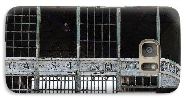 Galaxy Case featuring the photograph Casino Pier  by Elsa Marie Santoro