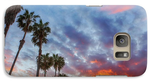 Galaxy Case featuring the photograph Casitas Palms by John A Rodriguez