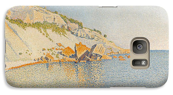 Galaxy Case featuring the painting Cassis. Cap Lombard. Opus 196 by Paul Signac