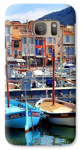 Galaxy Case featuring the photograph Cassis Harbor by Olivier Le Queinec
