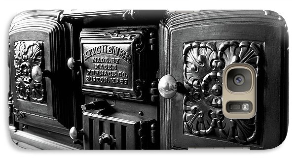 Galaxy Case featuring the photograph Cast Iron Character by Greg Fortier