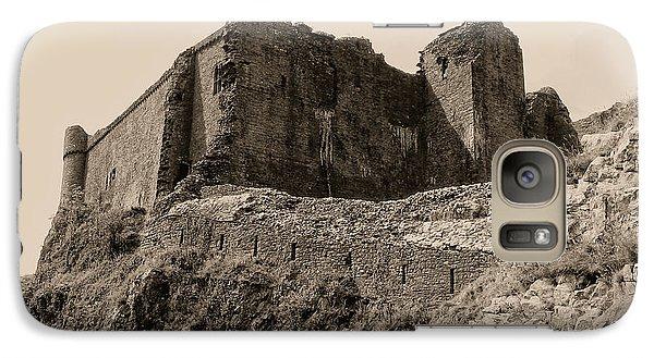 Galaxy Case featuring the photograph Castell Carreg Cennen by Nigel Fletcher-Jones