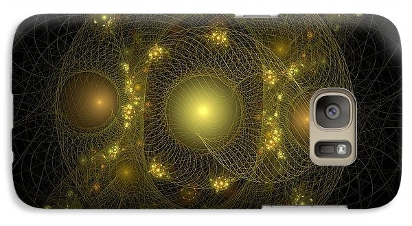 Galaxy Case featuring the digital art Casting Nets For Pearls by Richard Ortolano
