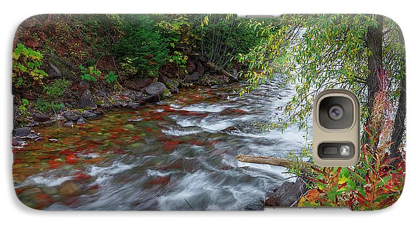 Galaxy Case featuring the photograph Castle Creek Beauty by Tim Reaves