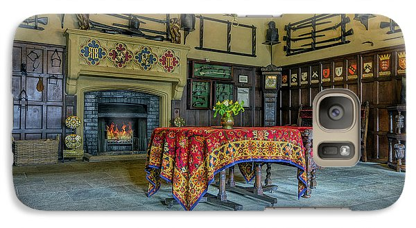 Galaxy Case featuring the photograph Castle Dining Room by Ian Mitchell