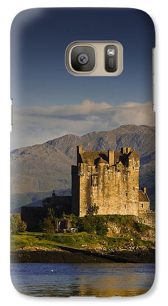 Galaxy Case featuring the photograph Castle Eilean Donan by Gabor Pozsgai