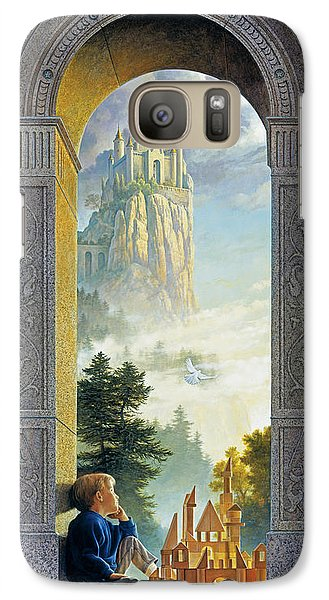 Castles In The Sky Galaxy S7 Case by Greg Olsen