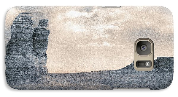 Galaxy Case featuring the photograph Castles Of Wonder by Thomas Bomstad