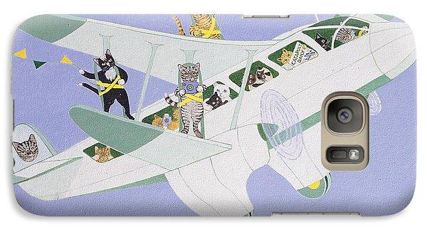 Cat Air Show Galaxy S7 Case