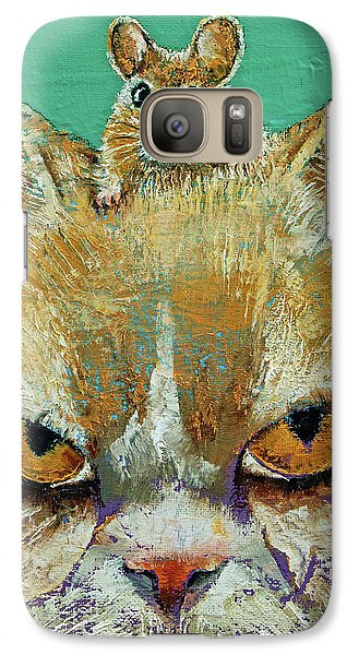 Cat And Mouse Galaxy S7 Case