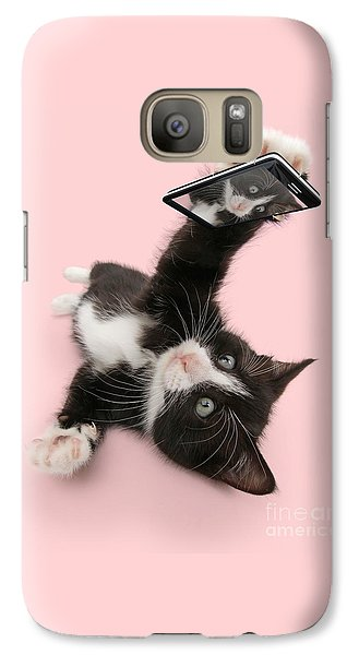 Cat Selfie Galaxy S7 Case