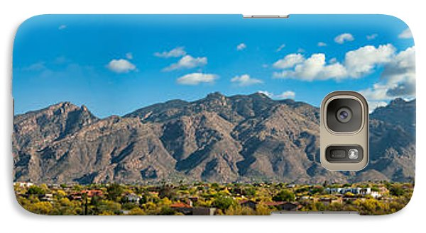 Galaxy Case featuring the photograph Catalina Mountain Panorama by Dan McManus