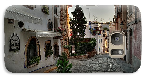 Galaxy Case featuring the photograph Catalonia - The Town Of Sitges 003 by Lance Vaughn