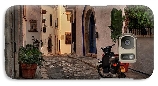 Galaxy Case featuring the photograph Catalonia - The Town Of Sitges 004 by Lance Vaughn