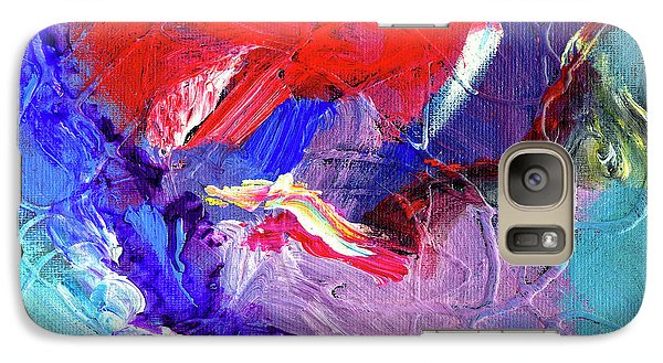 Galaxy Case featuring the painting Catalyst by Dominic Piperata