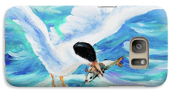 Galaxy Case featuring the painting Catch by Igor Postash