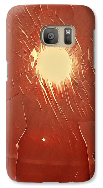 Catching Fire Galaxy S7 Case