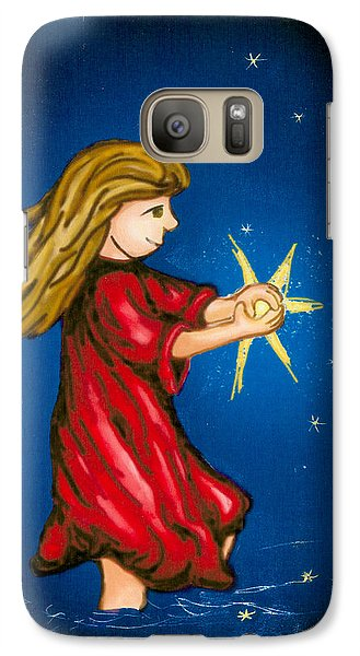 Catching Moonbeams Galaxy S7 Case by Jana Nielsen