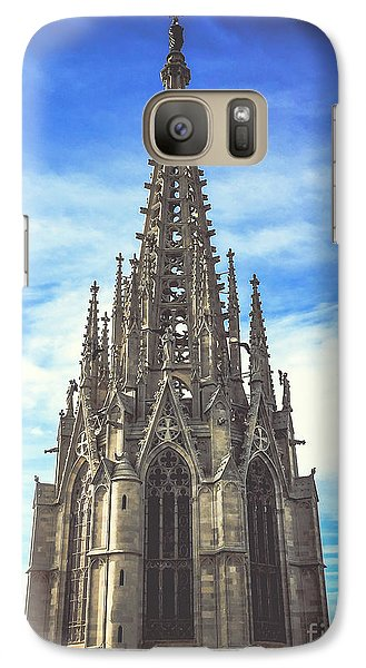 Galaxy Case featuring the photograph Catedral De Barcelona by Colleen Kammerer