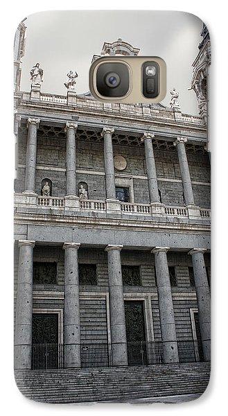 Galaxy Case featuring the photograph Catedral De La Almudena 2 by Angel Jesus De la Fuente
