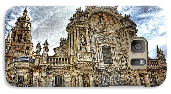 Galaxy Case featuring the digital art Catedral De Murcia by Angel Jesus De la Fuente