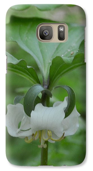 Galaxy Case featuring the photograph Catesby Trillium by Linda Geiger